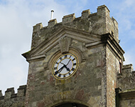 Clock Face in Shaftesbury